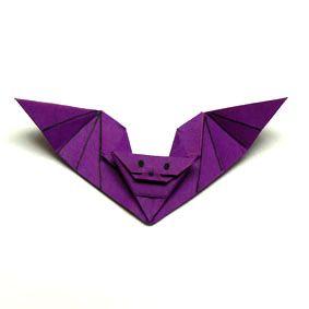 origami fledermaus origami pinterest origami fledermaus und basteln. Black Bedroom Furniture Sets. Home Design Ideas