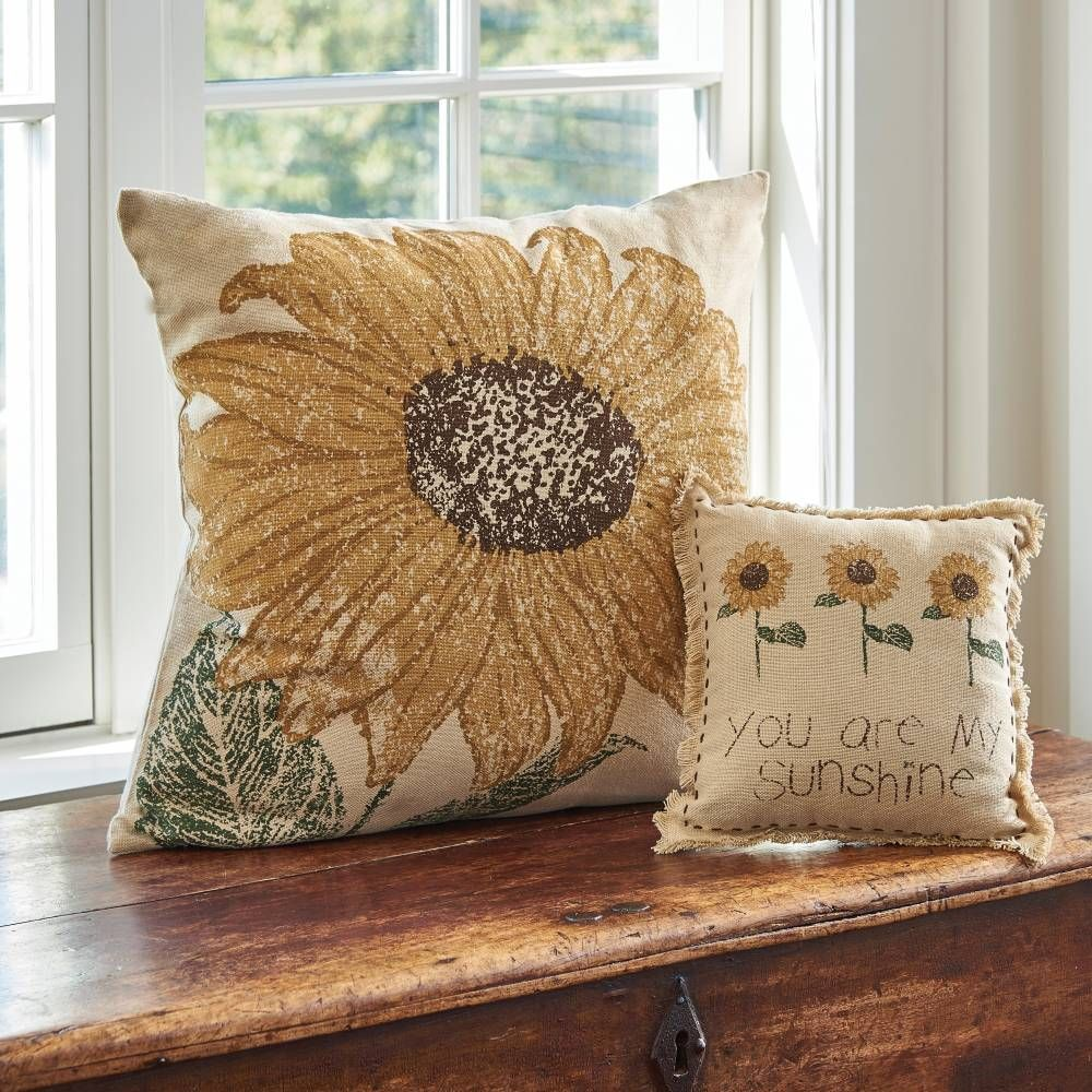 Country Home Accents Sunflower Pillow Cover 20