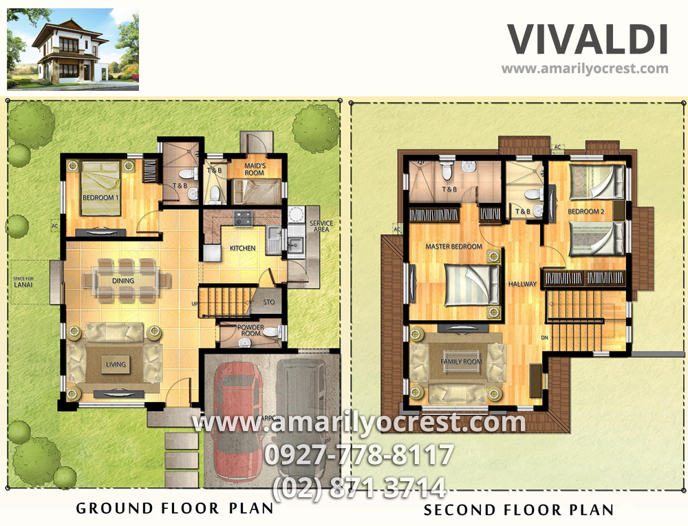 Vivaldi+Floor+Plan.png (1000×764) Floor plans, House