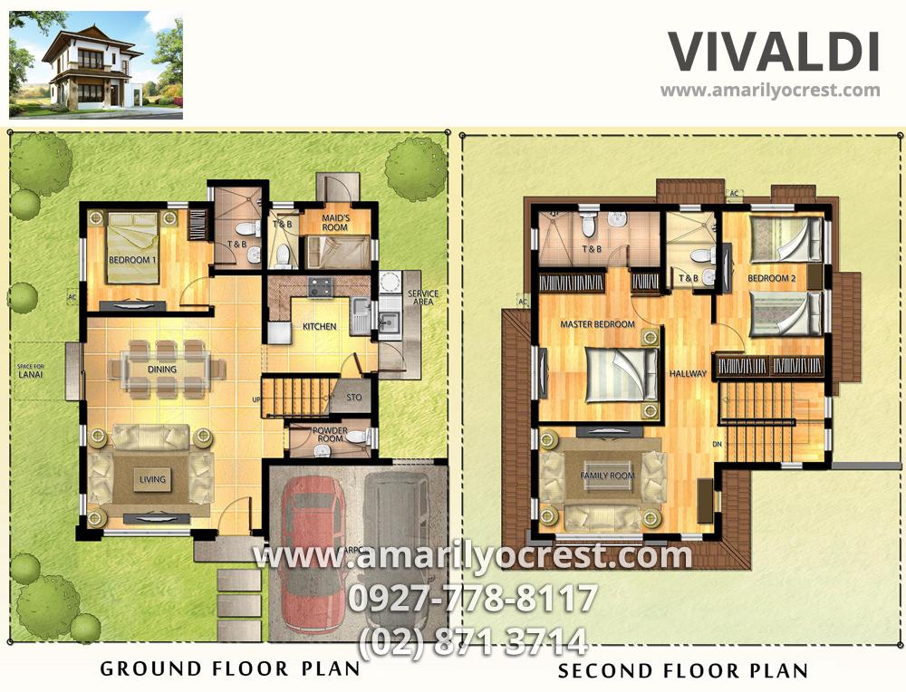 Vivaldi floor 1000 764 200 250 sqm floor for Modern house design 300 sqm