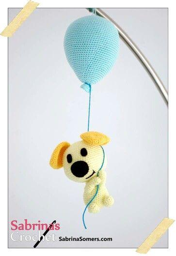 Patroon woezel en pip haken aan ballon | haken | Pinterest ...