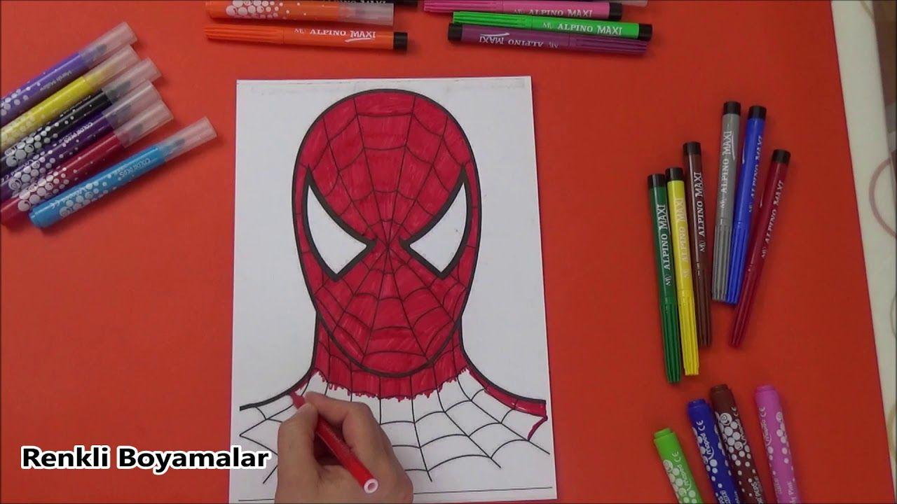 Spiderman Boyama Sayfasi Youtube 2020 Youtube