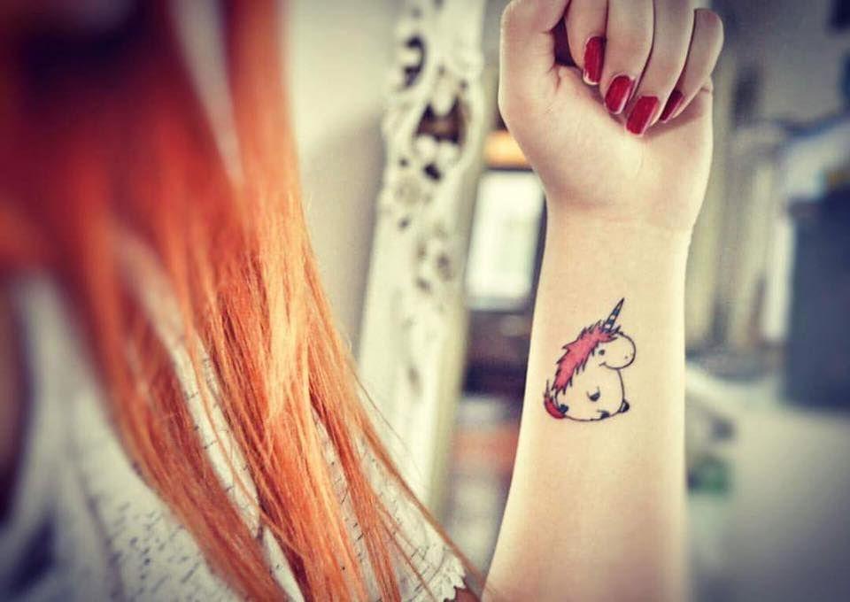 Unicorn tattoo colorfull tattoo '' tattoo artist by Murat GÜREL '' manisa dövme