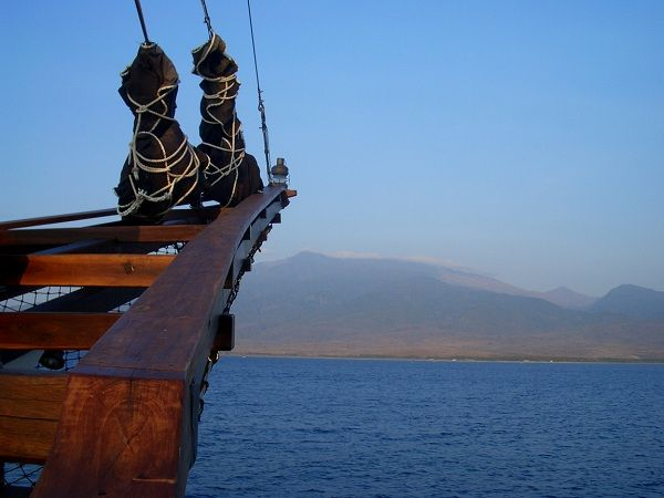 Phinisi Silolona Sunset Kasten Marine Design Inc