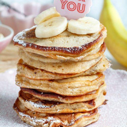 Bananen Pancakes klassisch - einfach und lecker - Drucken