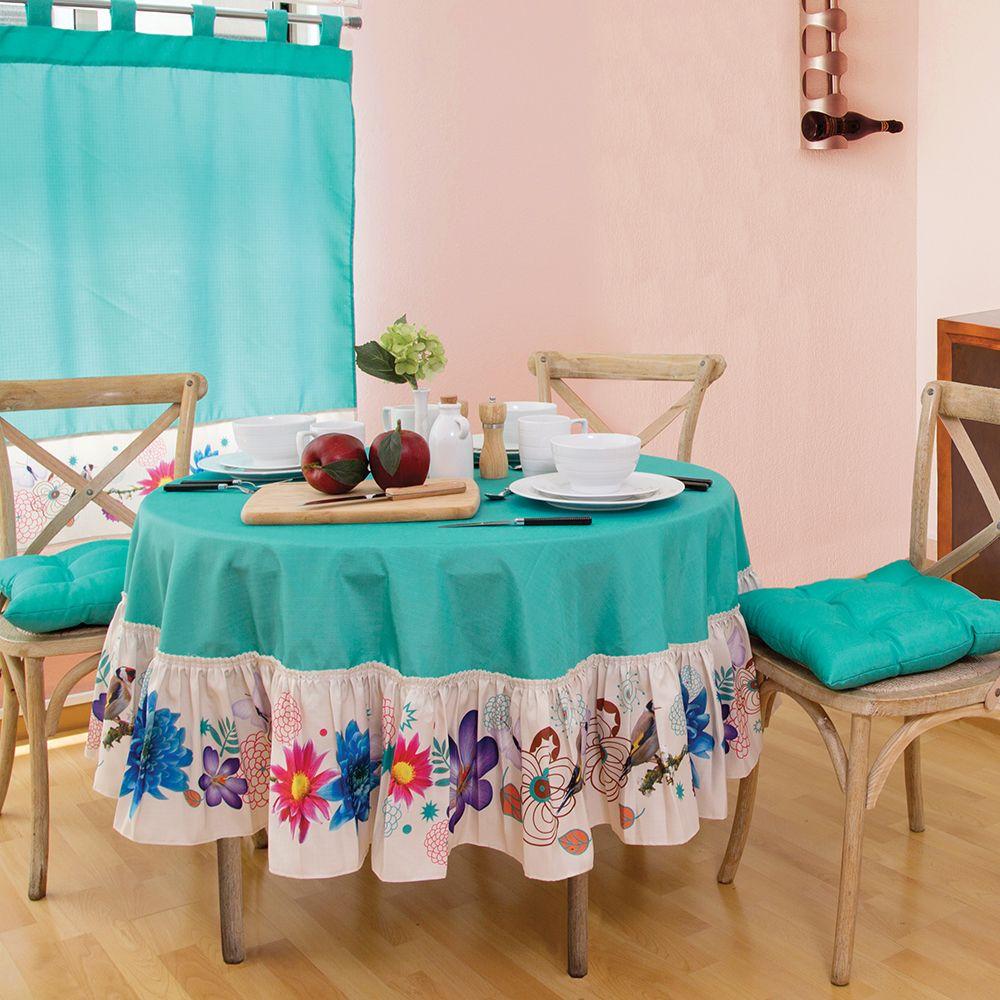 Mantel redondo amazonas cocina accesorios decoracion for Accesorios decoracion hogar