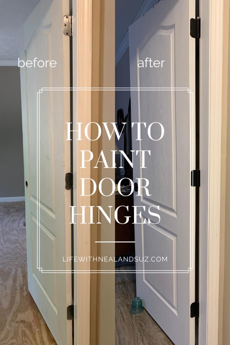 How To Paint Door Hinges In 2020 Painted Doors Interior Door Hinges Diy Interior Doors