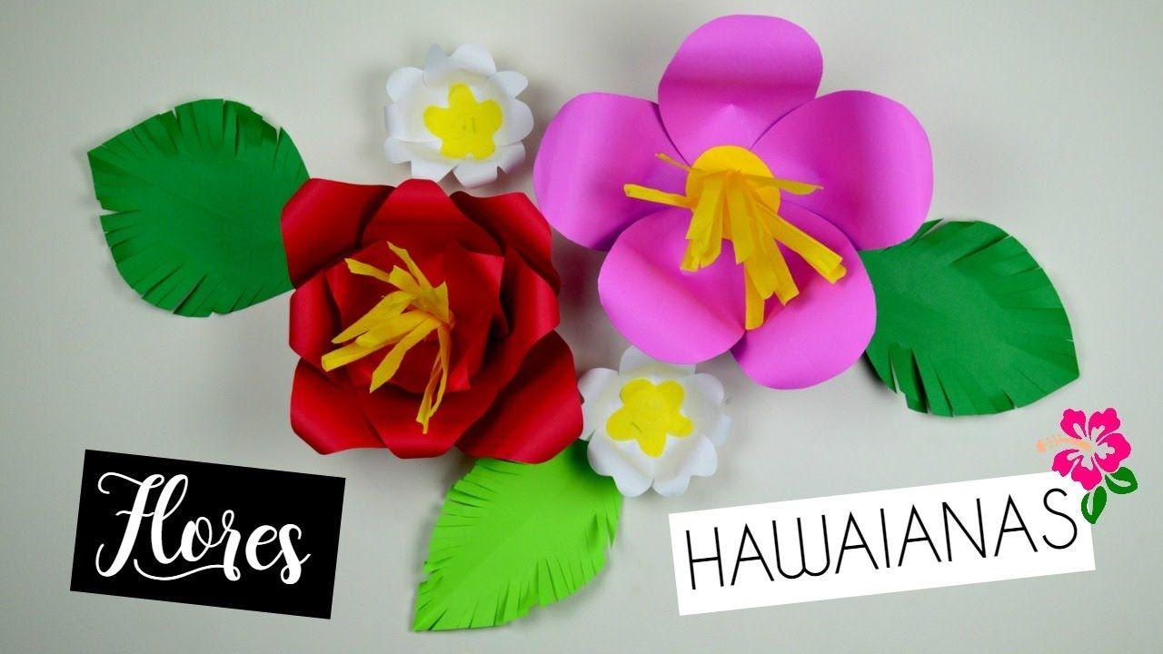 Best hawaiian paper flowers contemporary images for wedding gown hawaiian paper flowers flores de papel pinterest izmirmasajfo Gallery