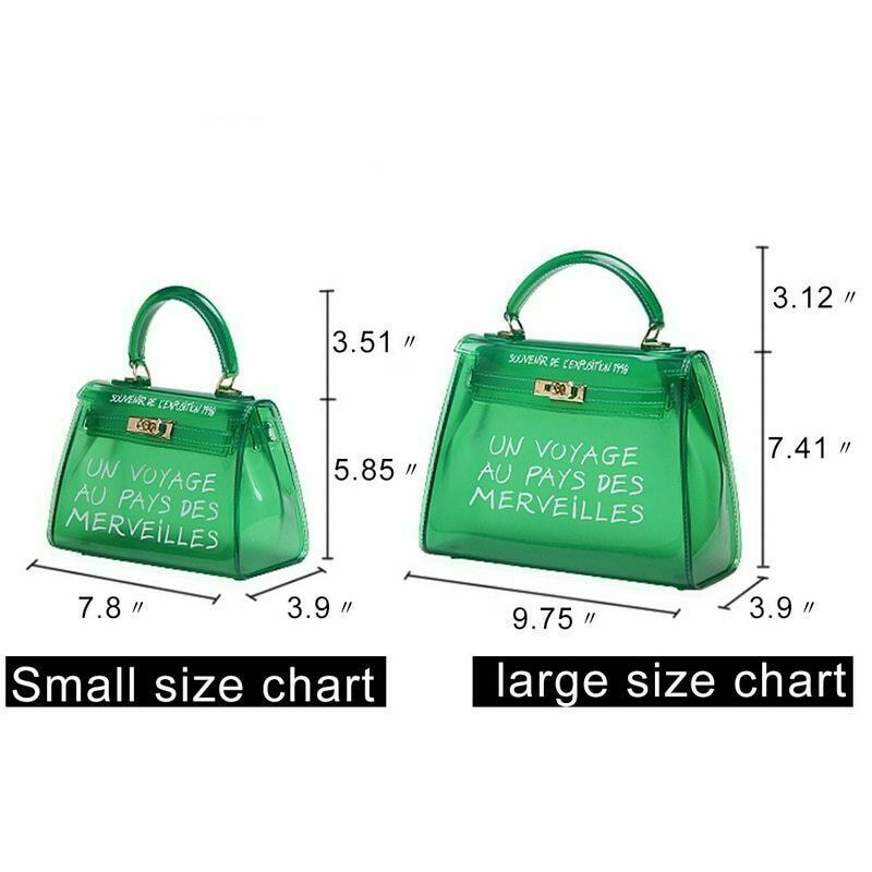 Trendy Clear Un Voyage Au Pays Handbags Across Body Bag Tote Variety Colours