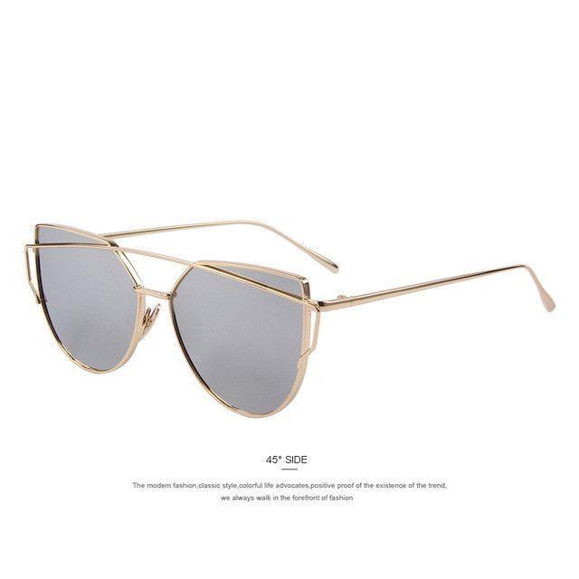 f37ad188c3423 MERRY S Women Cat-Eye Style Sunglasses