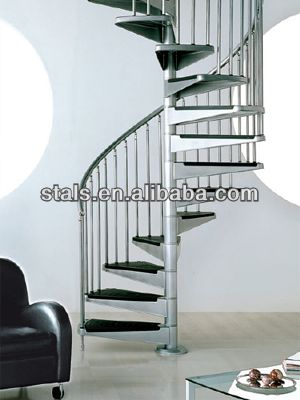 Charmant Spiral Stairs Staircase For Small Space Protable Stairs Prefabricated Stairs  $2250~$3820