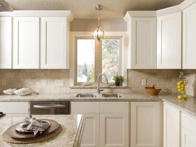 vanilla shaker kitchen cabinets - rta kitchen cabinets | kitchen