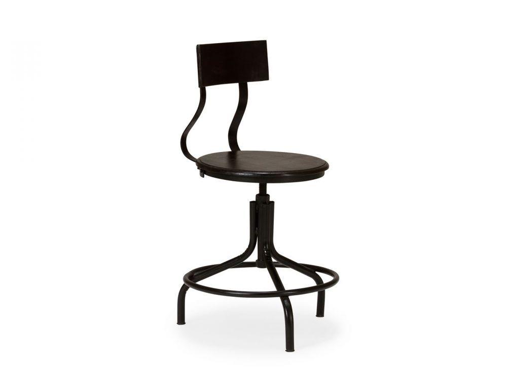 Design Schreibtischstuhl schreibtischstuhl bürostuhl metall drehstuhl industrie design stuhl