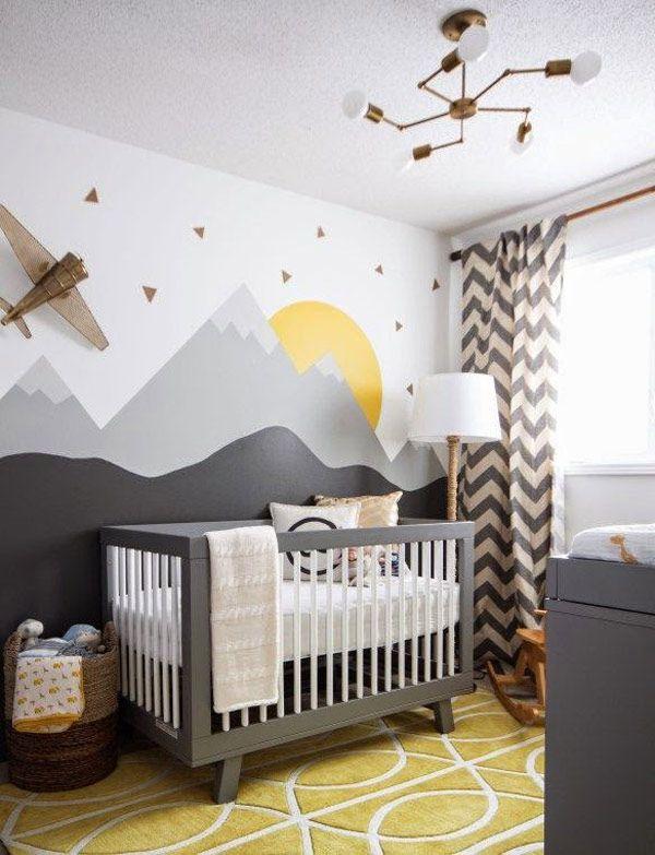 Habitaciones infantiles: 5 ideas para pintar paredes   Habitación ...