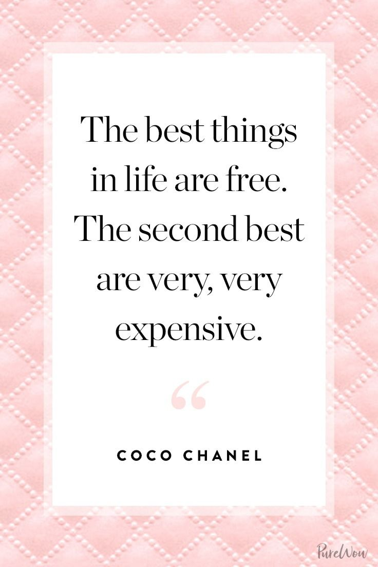 11 coco chanel quotes to guide you through life in style zitat. Black Bedroom Furniture Sets. Home Design Ideas