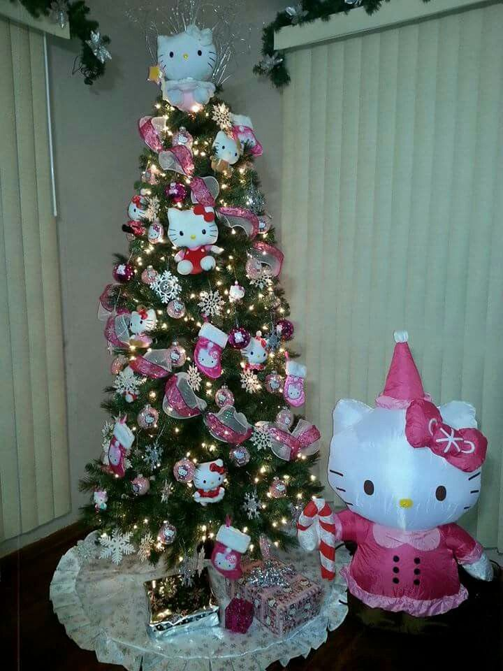 Hello Kitty Christmas Tree Christmas Navidad Hello Kitty