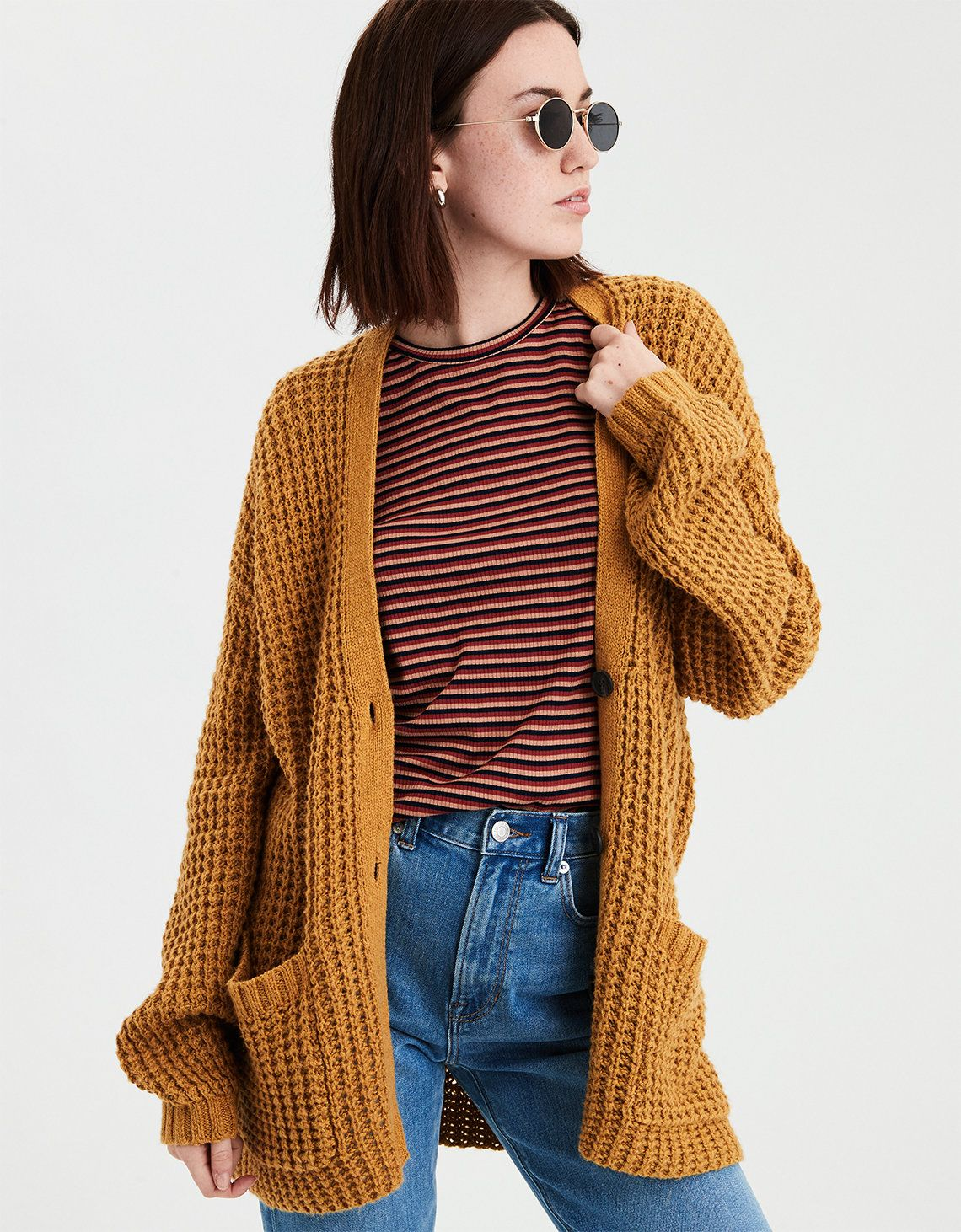5a8c86cf885 Image for the product Mustard Cardigan Outfit