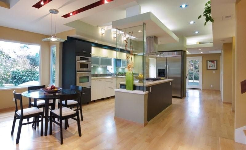 european kitchen design palo alto modern victorian house - Modern Victorian Kitchen Design