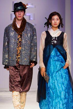퓨전 한복 드레스 Hanbok on the runway