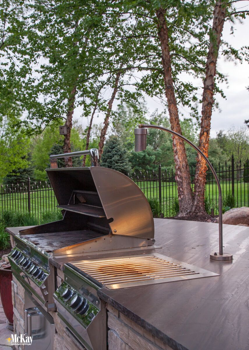 Outdoor Kitchen Lighting Series Part Two Grill Lighting With Images Outdoor Kitchen Lighting Outdoor Kitchen