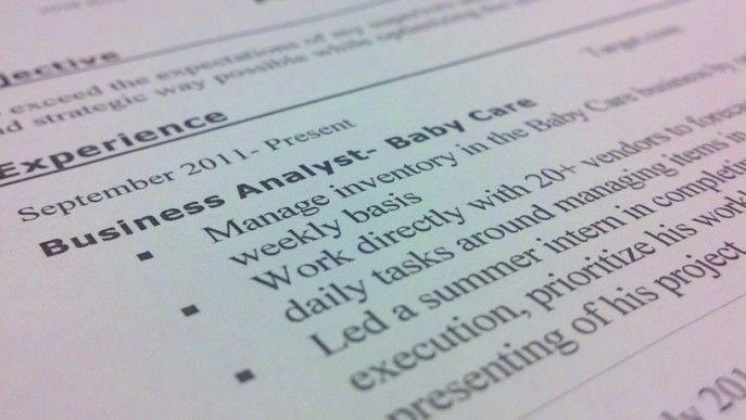 resume writing for target-ites Career Advice Pinterest Writing