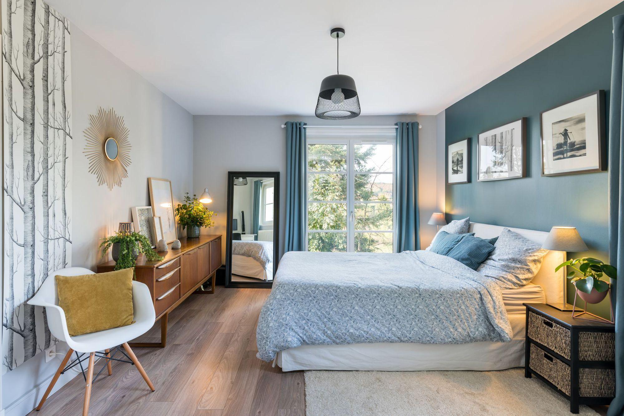 Maison Lyon : rénovation de 120 m2 pour une famille #chambreparentale