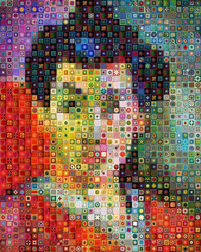 Unconventional Pixelated Portraits - WorkByKnight