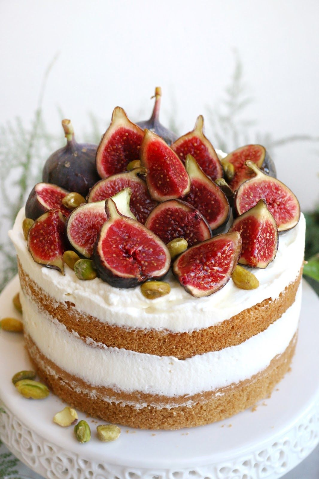 Citrus Olive Oil Cake with Honey and Figs