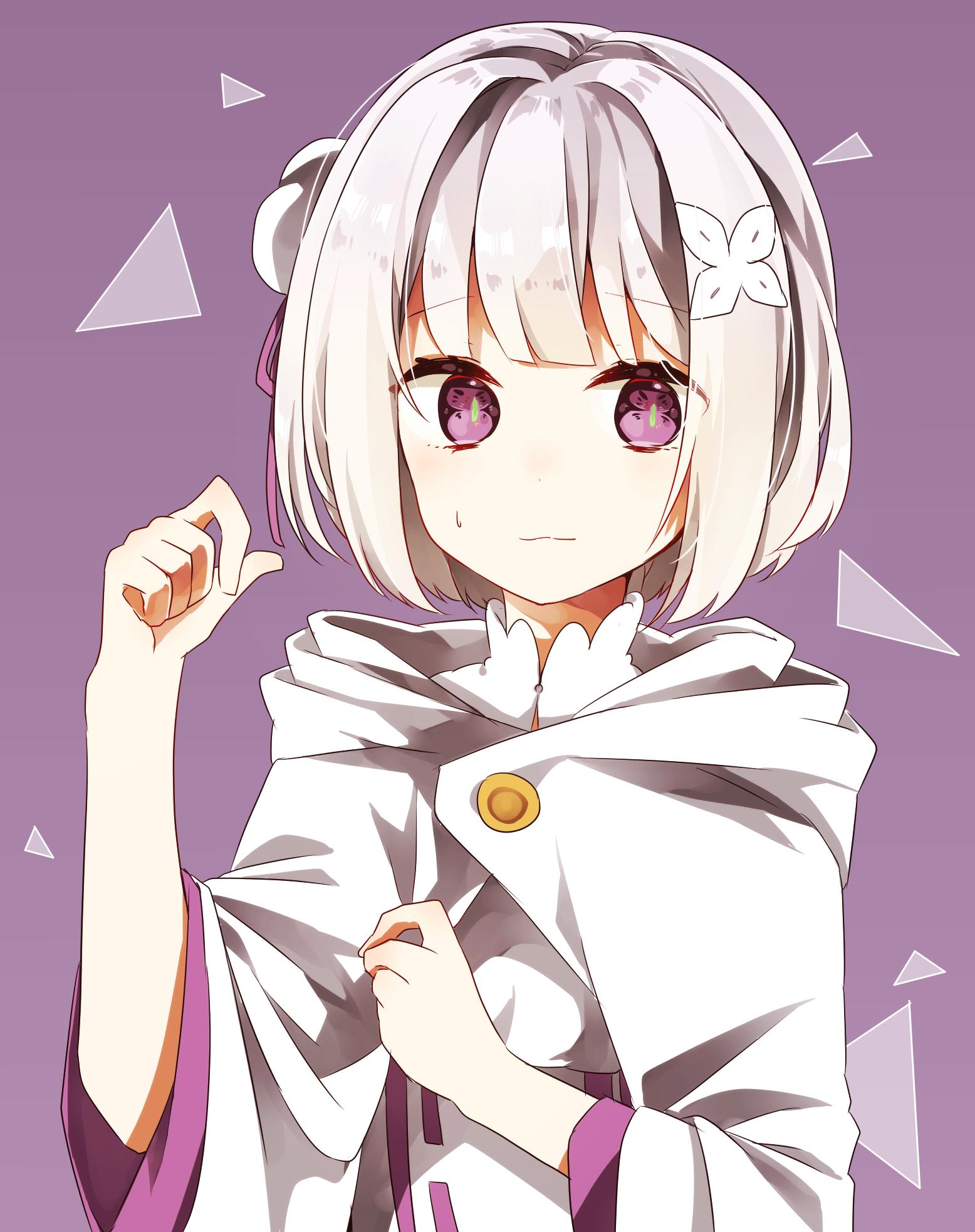 """Emilia"" 可愛いアニメガール, カワイイアニメ, マンガアニメ"