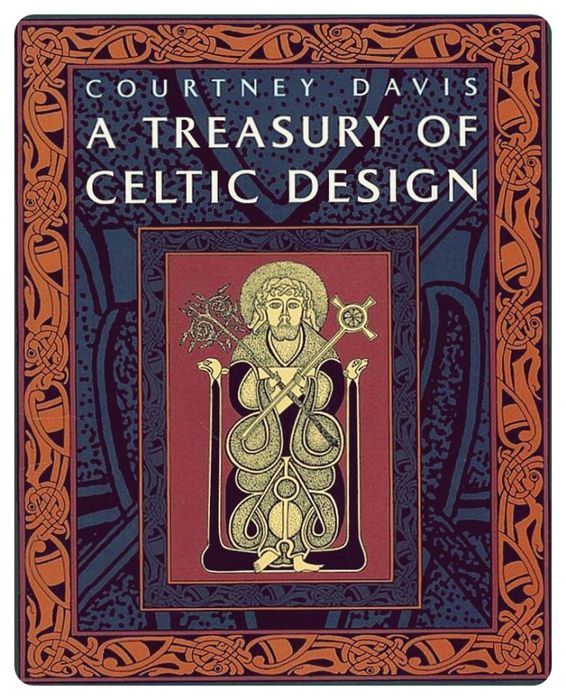 A Treasury Of Celtic Design Cliparts Book Keltskij Dizajn Keltskij Iskusstvo Vikingov