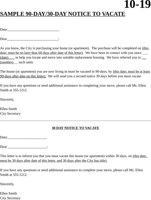 move out letter to tenant pdf