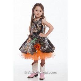 Camo Pageant Dresses