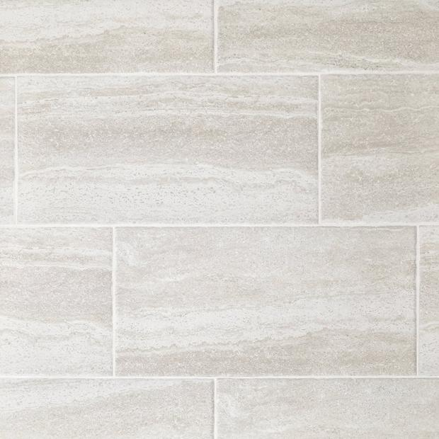 Earthstone White Porcelain Tile In 2020 White Porcelain Tile Stone Look Tile Porcelain Tile