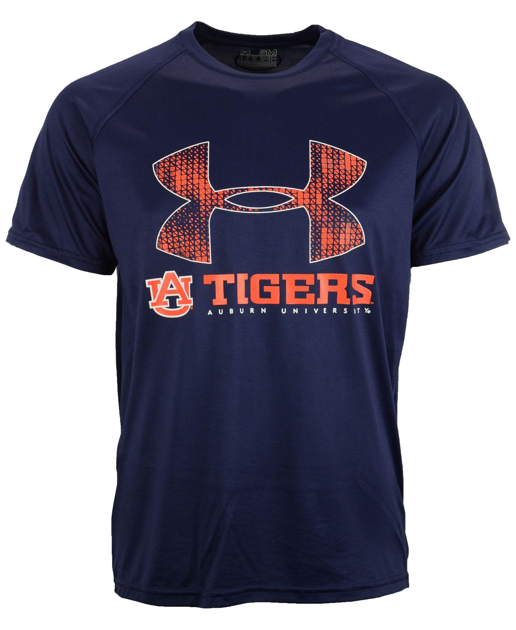 fe2f38436 Under Armour Men s Short-Sleeve Auburn Tigers T-Shirt