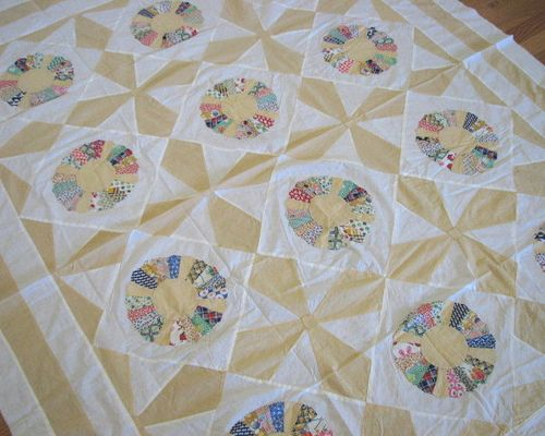 Dresden Plate Quilt Top | by ciderantiques ...