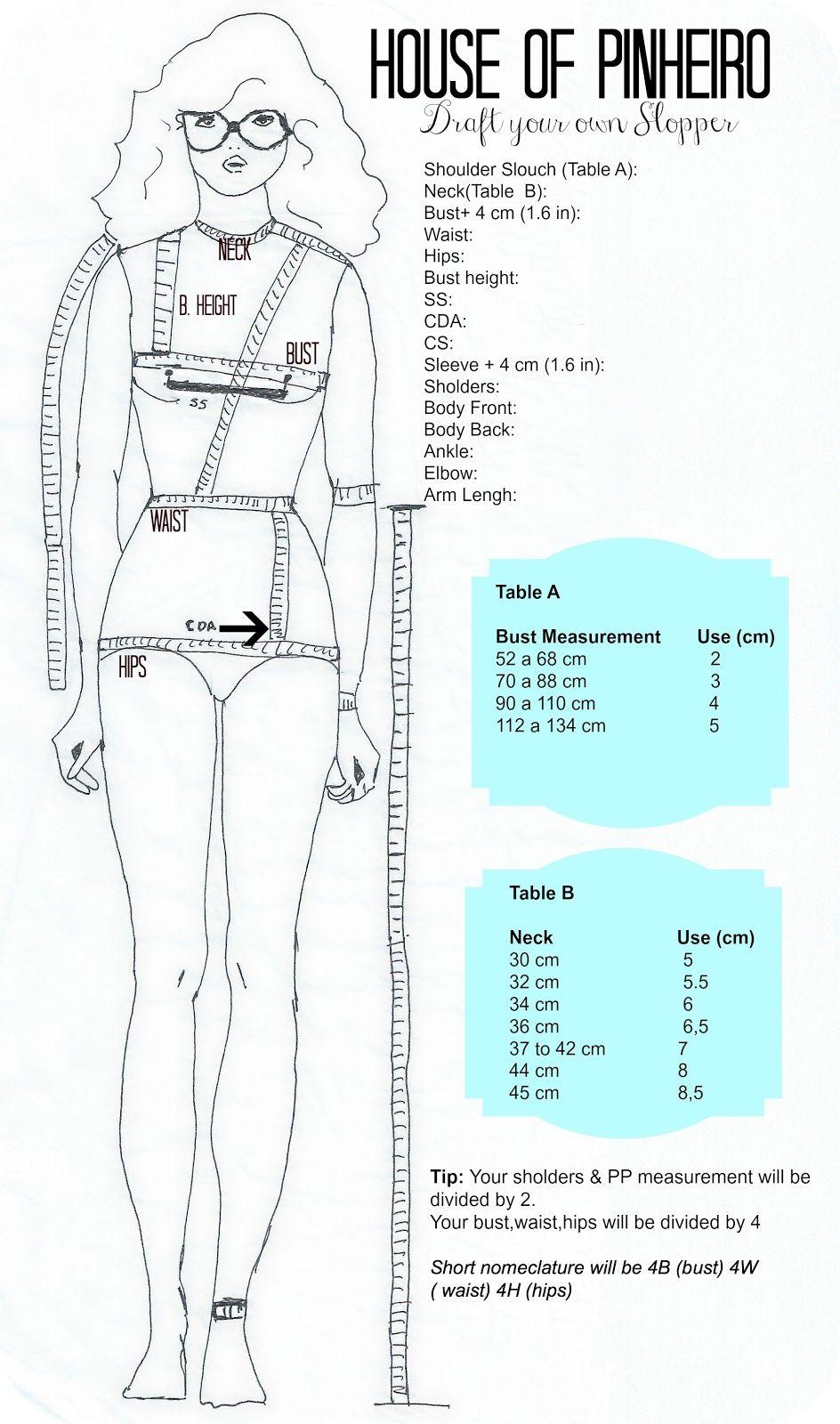 Draft your own Skirt Tutorial | como fazer - roupas | Pinterest ...
