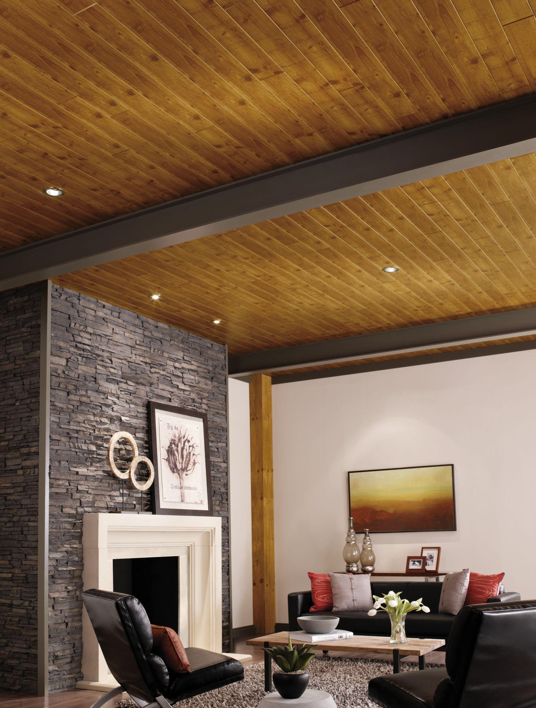 Ideas para techos dise os de techos de armstrong for Ladrillos falsos decorativos