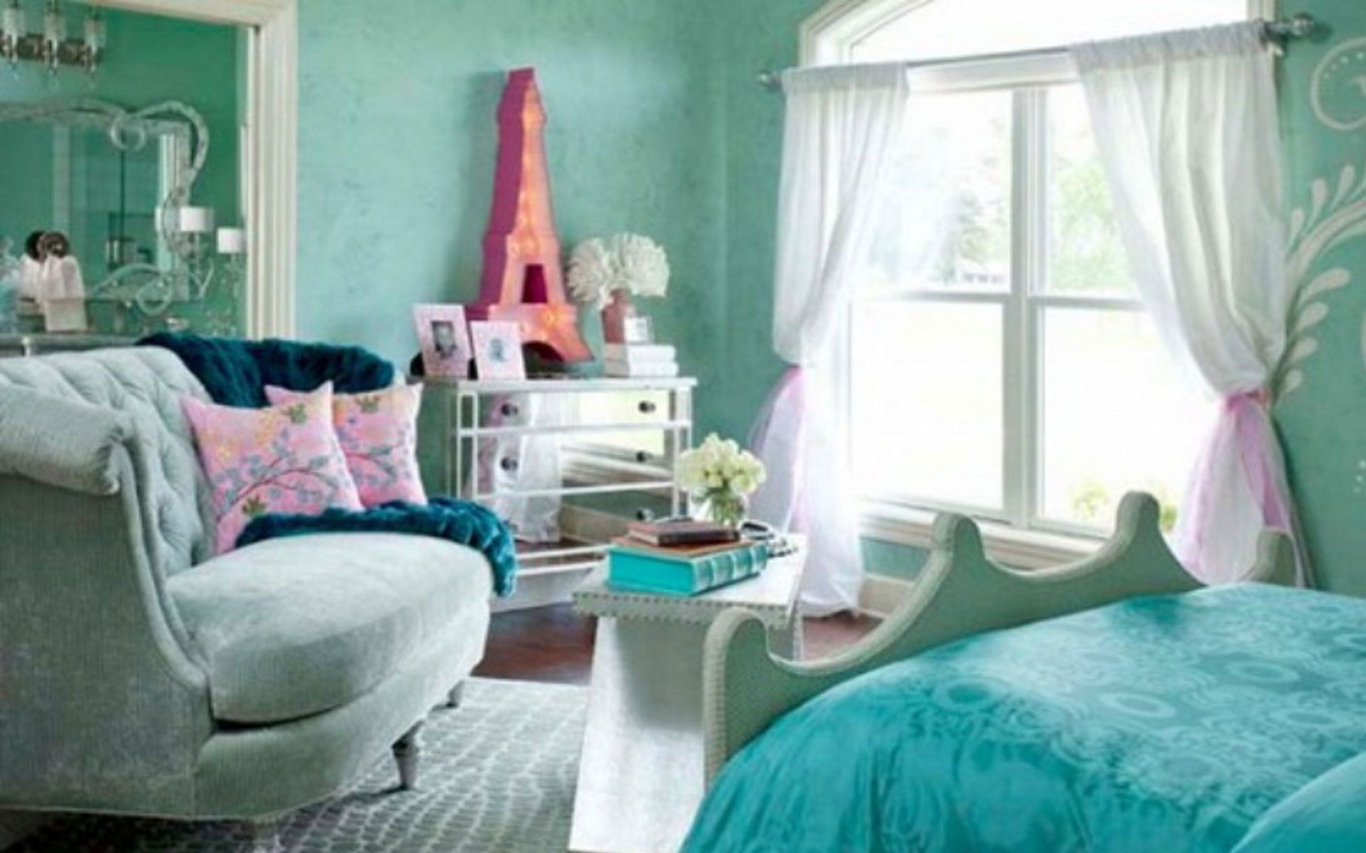 high school girl bedroom ideas | green bedroom designs for teenage