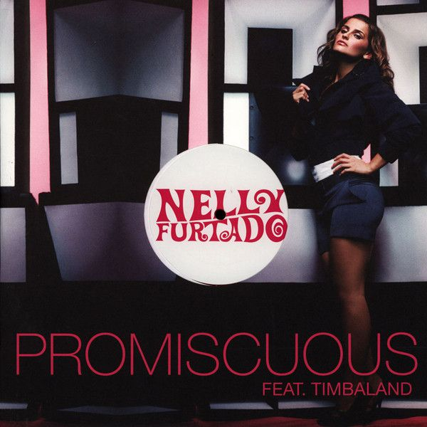 Nelly Furtado, Timbaland – Promiscuous (single cover art)