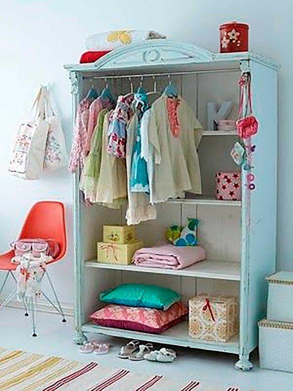Artesanato Em Madeira ~ Ocho ideas creativas para sustituir el armario del bebé Armario de, Ideas creativas y Armario