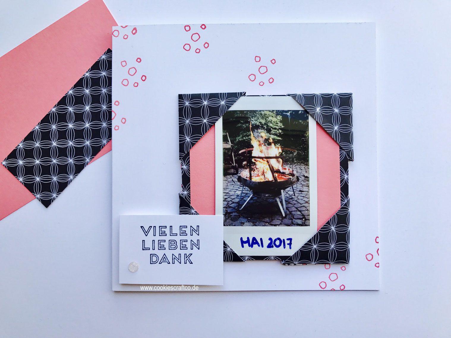 Origami - Bilderrahmen für die Karte | Basteln mit Papier und ...