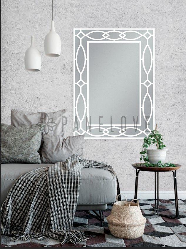 Ażurowa Rama Panel Do Lustra O Wymiarze 131x91 Cm Panele