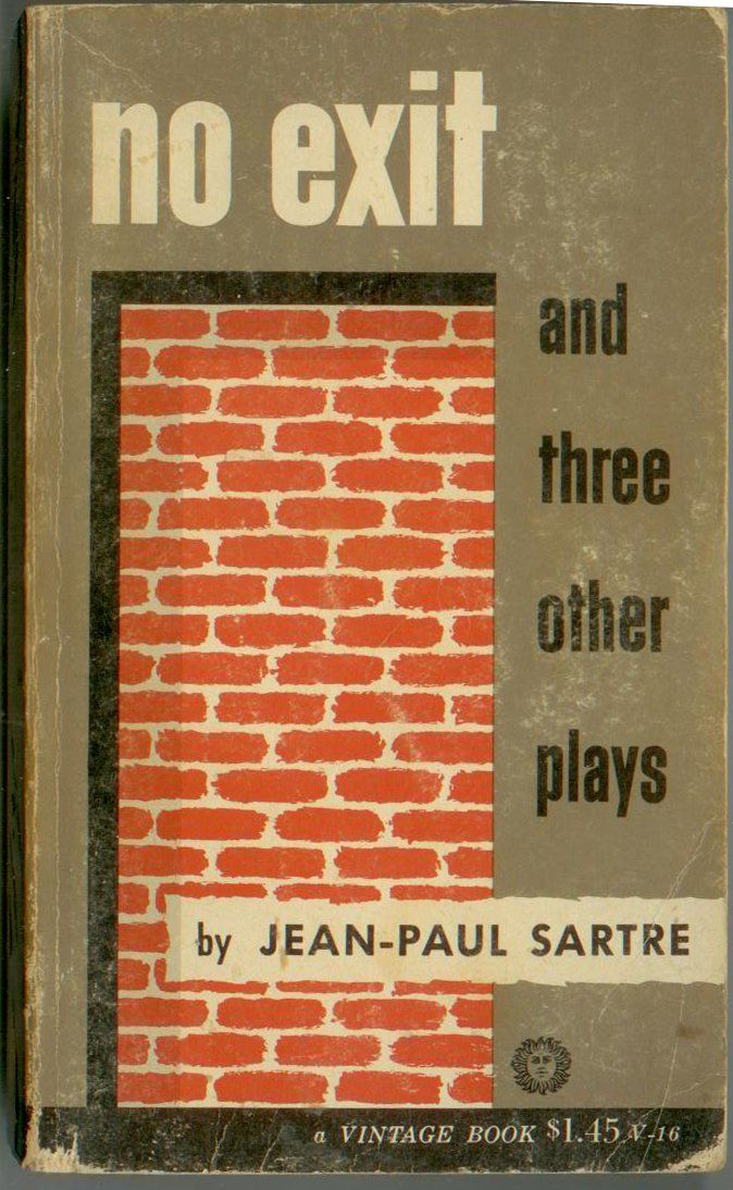 No Exit, And Three Other Plays - Jean Paul Sartre #jeanpaulsartre