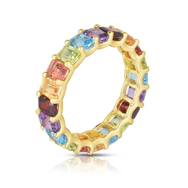 Pop Perfect Ring Diamontrigue Jewelry: Ready To Ship In 4-6 Weeks The Perfect Pop Of Color You