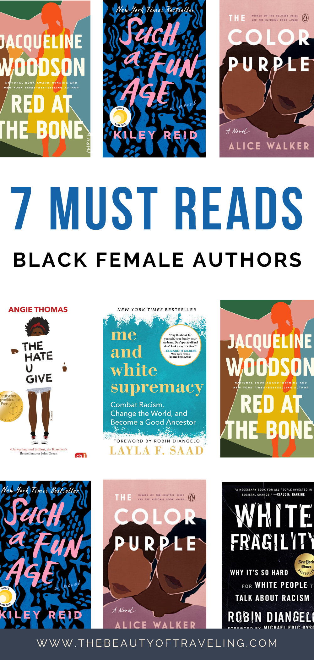 7 Book Recommendations On Racism Books By Black Female Authors Must Read Books By Black Women Book Club Books Empowering Books Books