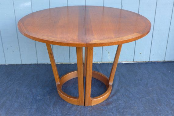 Adrian Pearsall For Lane Dining Table Round Oval By ZeeJunkHunter