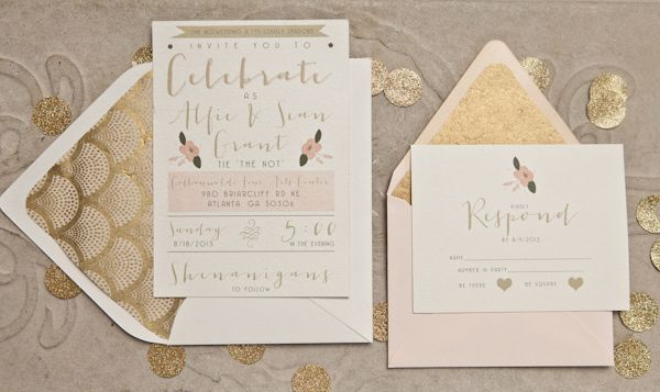 Atlanta Wedding Invitations: The NotWedding Atlanta