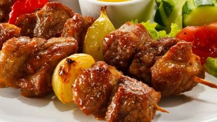 تتبيلة لحم مشوي Recipe Egyptian Food Kebab Meat Middle East Recipes