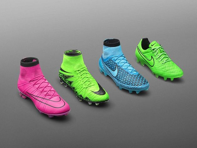 Nike Lightning Storm Pack Opens Season In Bright Neon The Instep Nike Football Nike Soccer Soccer Shoes
