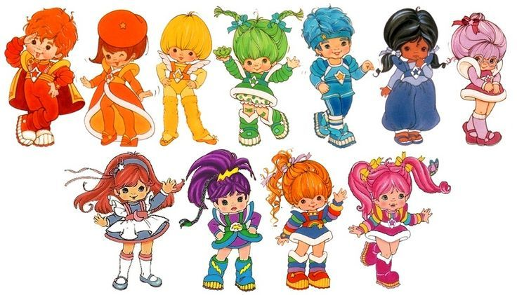 Rainbow and the Color Kids   Cartoons   Pinterest   Rainbows and ...